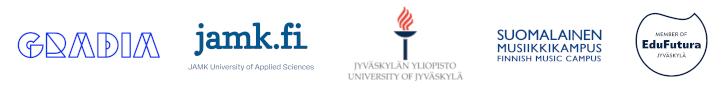 Suomalaisen musiikkikampuksen ja EduFutura Jyväskylän logot.