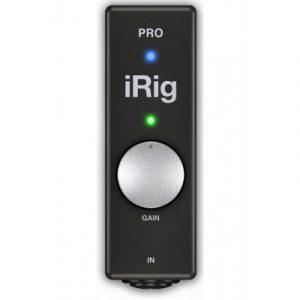 iRig Pro mobiiliäänikortti.