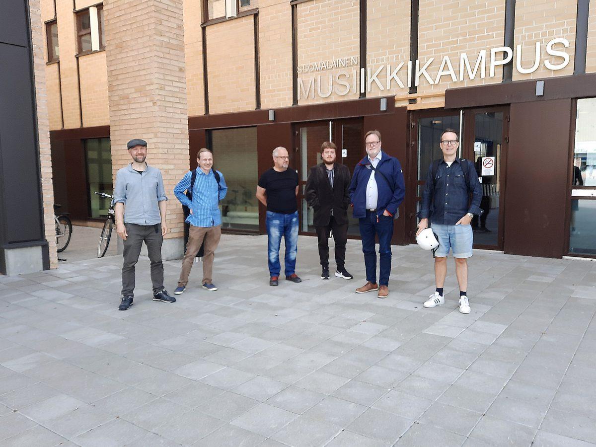 MUSE-projektiryhmä Jyväskylässä